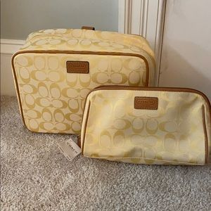 Coach Cosmetic Travel Bags